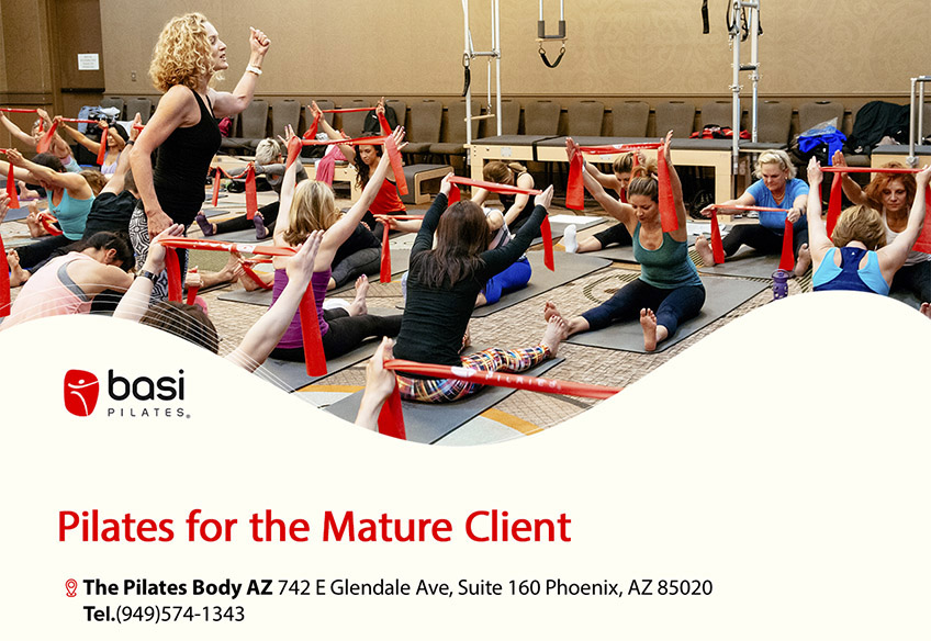 Pilates for the Mature Client